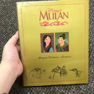 Other - Mulan special collector's edition book